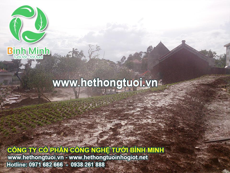 Dự án biệt thự 1 ha tại Thanh Hóa